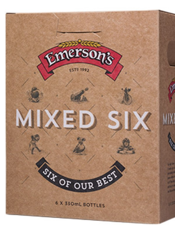 Emersons Mixed 330 ml 6 pack