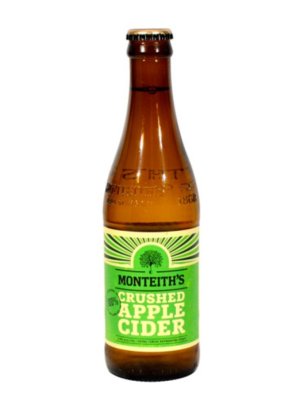 Monteith's Crushed Apple Cider - 12 Pack