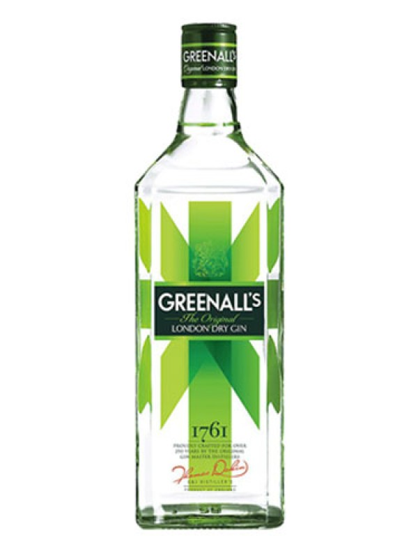 Greenall's London Dry Gin – 1 Litre