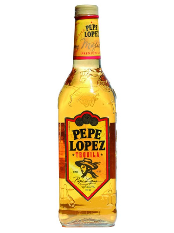 Pepe Lopez Gold Tequila 700 ml