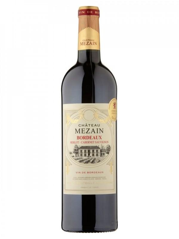 Chateau Mezain Bordeaux Merlot Cabernet Sauvignon 2016