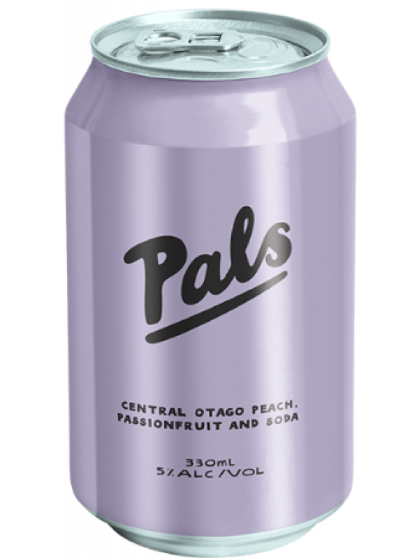 Pals Vodka Peach & Passionfruit 10Pk Cans 330ml