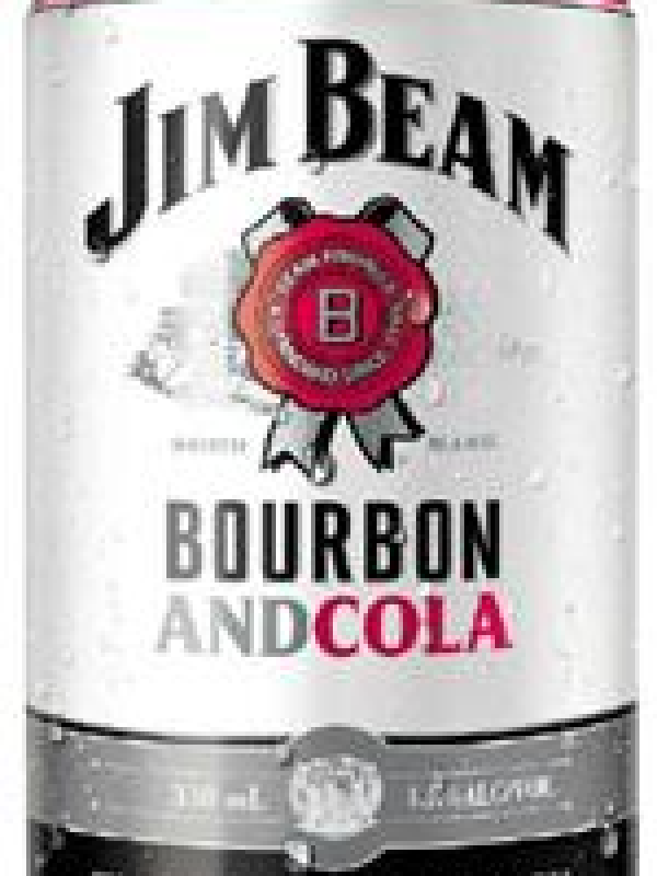 Jim Beam & Cola 4.8% 10 Pack Cans 330ml