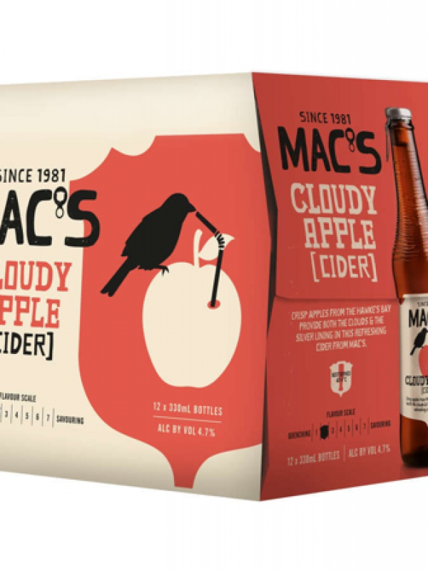Mac's Cloudy Apple Cider - 12 pack