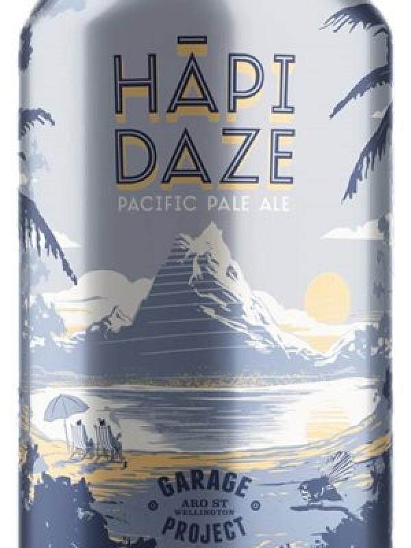 Garage Project Hapi Daze Pale Ale 6 Pk Cans 330ml