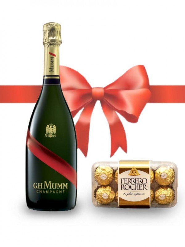 Mumm Grand Cordon Rouge Champagne Brut Mate