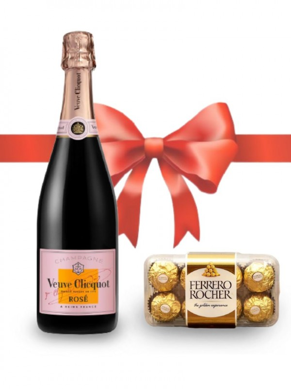 Veuve Clicqout Champagne Rose Non Vintage Mate