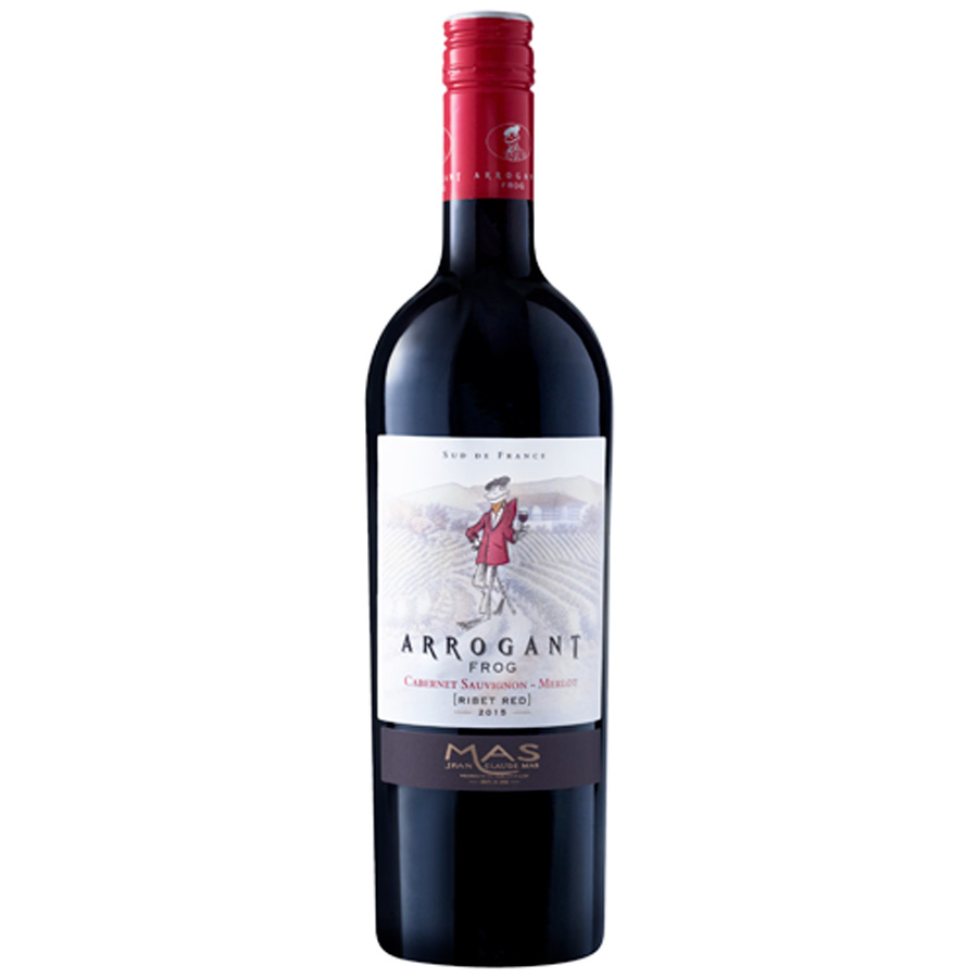 Arrogant Frog Cabernet Merlot Ribet Red 750ml
