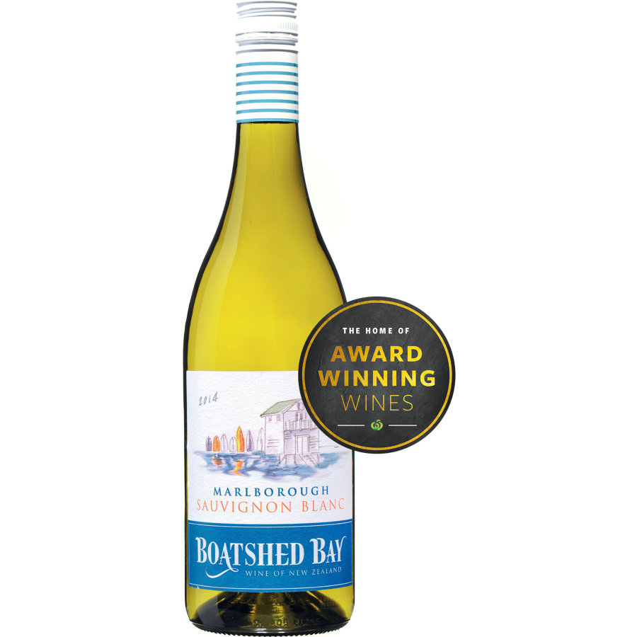 Boatshed Bay Sauvignon Blanc Marlborough 750ml