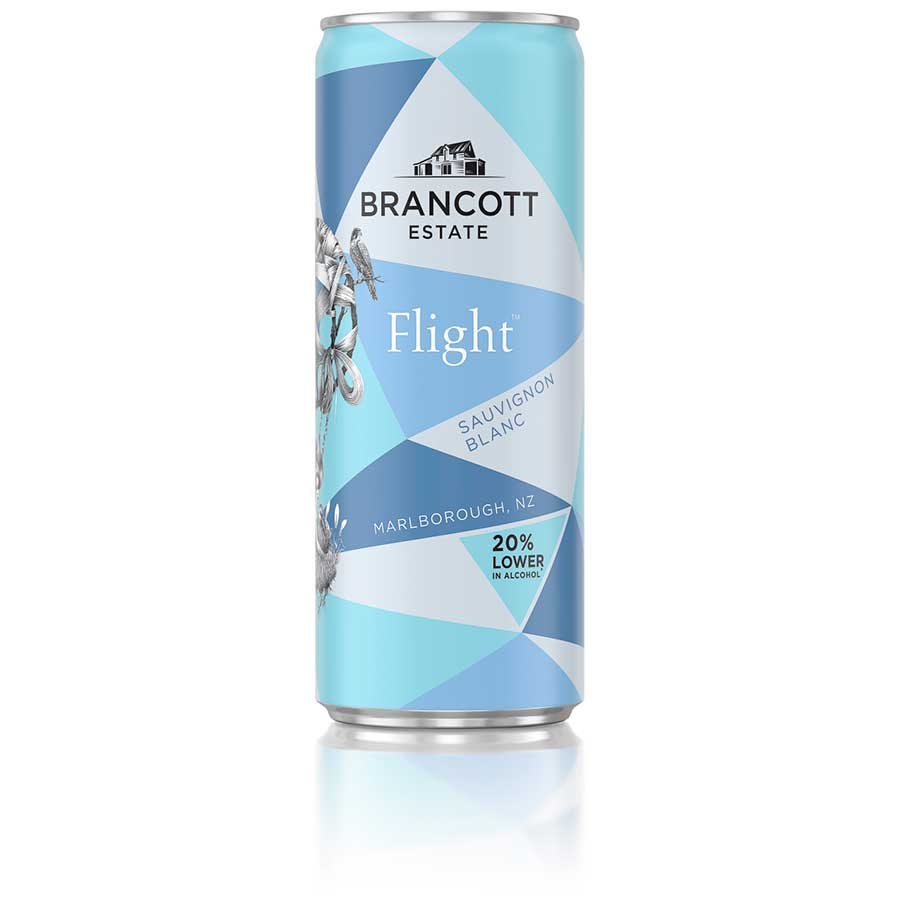 Brancott Estate Flight Sauvignon Blanc single can 250ml