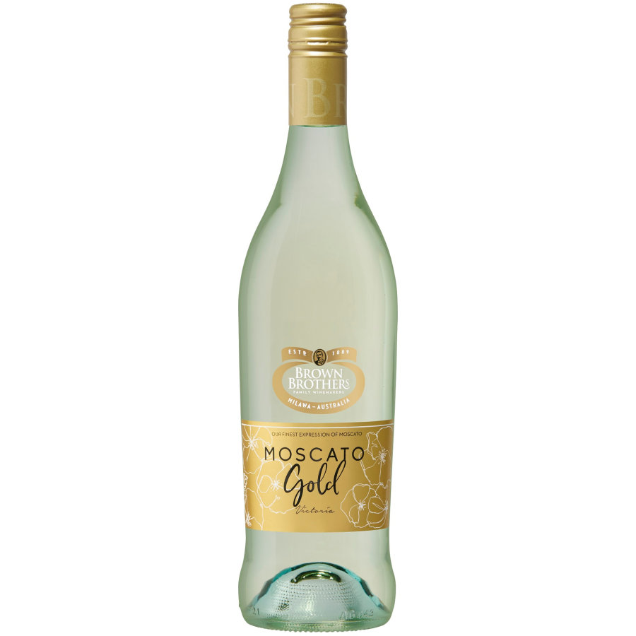 Brown Brothers Moscato White Gold 750ml