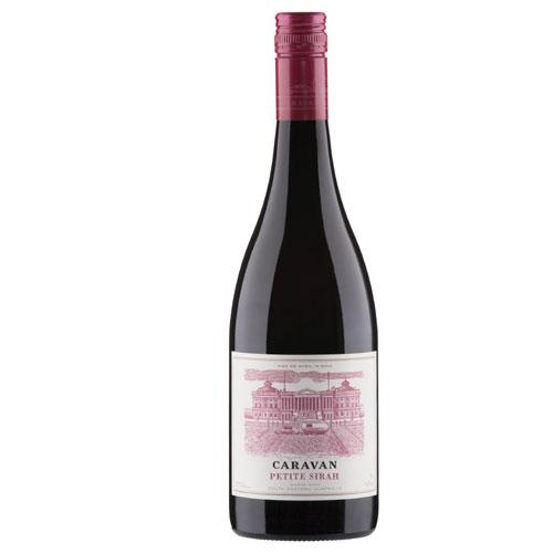 Caravan Petite Red Wine Sirah Austrailia 750ml