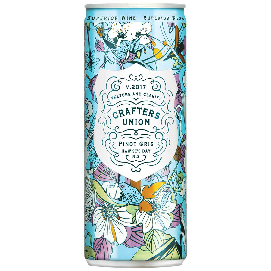 Crafters Union Pinot Gris single can 250ml